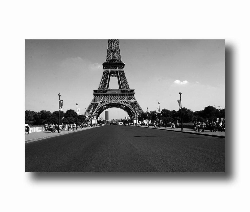 poster van Eiffeltoren in Parijs